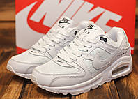 Кроссовки женские Nike Air Max 10724 найк найки белые аир макс Реплика