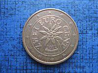Монета 2 евроцента Австрия 2012