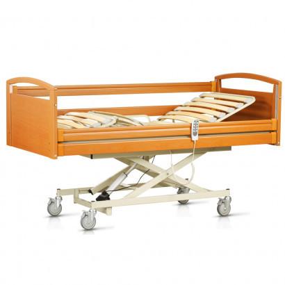 Функциональная кровать с электроприводом, медицинская OSD-NATALIE-90 CM (больничная койка, 4-х секционная)
