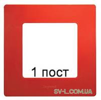 Рамка 1-ая Etika (красный) 672531