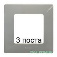 Рамка 3-ая Etika (светлая галька) 672523