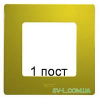 Рамка 1-ая Etika (зеленый папоротник) 672541