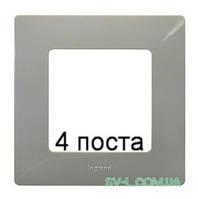 Рамка 4-ая Etika (светлая галька) 672524