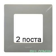 Рамка 2-ая Etika (светлая галька) 672522