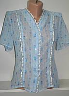 Женская летняя шифоновая блузка, фото 1
