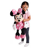 Минни Маус в розовом платье 68 см Оригинал Disney Minnie Mouse Plush - Pink - Large