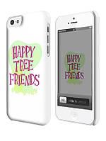 Чехол для iPhone 4/4s/5/5s/5с веселые лесные друзья логотип  / happy tree friends logo