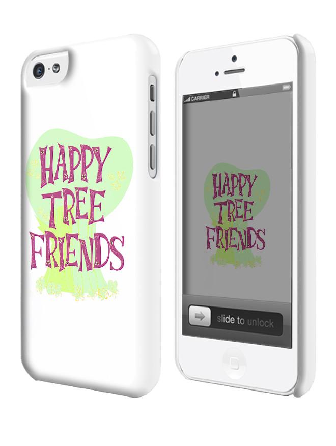 Чехол для iPhone 4/4s/5/5s/5с веселые лесные друзья логотип  / happy tree friends logo - Magic Photo / Магия Фото в Харькове