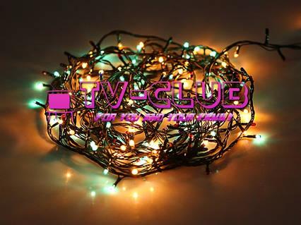 Новогодняя гирлянда multi 140 ламп  4,5 метров, фото 2