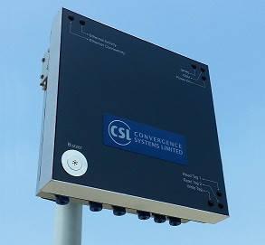 UHF (868 МГц) считыватель со встроенным edge сервером CS208