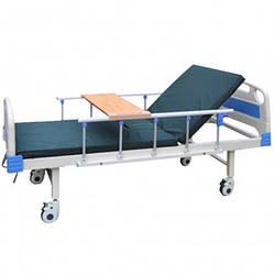 Ліжко функціональна медична 2-х секційна OSD-LY897 (для лежачих хворих, інвалідів, літніх людей)
