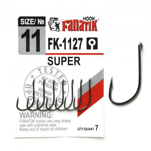 Крючок одинарный Fanatik SUPER  №11