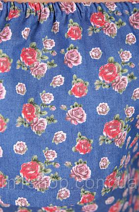 Женское летнее платье с открытыми плечами (1781 mrs), фото 2
