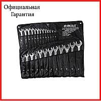 Ключи рожково-накидные Sigma 25шт 6-32мм  CrV satine (тк чехол) (6010141)