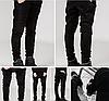 Черные Swag Black джинсы узкачи слимфит  Biker Jeans SlimFit, фото 4