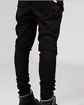 Черные Swag Black джинсы узкачи слимфит  Biker Jeans SlimFit, фото 2