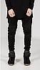 Черные Swag Black джинсы узкачи слимфит  Biker Jeans SlimFit, фото 3