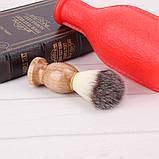 Помазок для бритья натуральный , фото 2