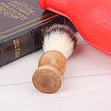 Помазок для бритья натуральный , фото 3