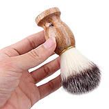 Помазок для бритья натуральный , фото 5