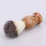Помазок для бритья натуральный , фото 6