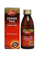 Касторовое масло холодного отжима, Дабур / Erand Tail (Kastor Oil), Dabur / 100 ml