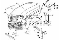 Капот на YTO X704