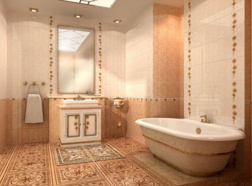 Плитка Golden Tile — Коллекция «Каменный цветок» (бежевый)