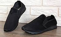 Чоловічі мокасини спортивні - кросівки (ПР-3306ч)