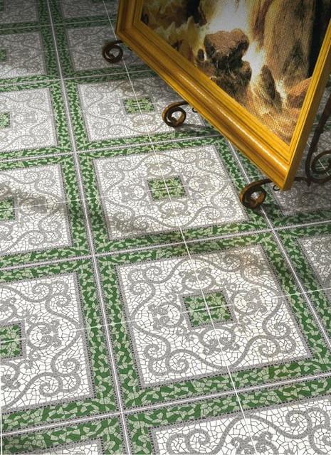 Плитка Golden Tile — Коллекция «Византия» (зелёный)