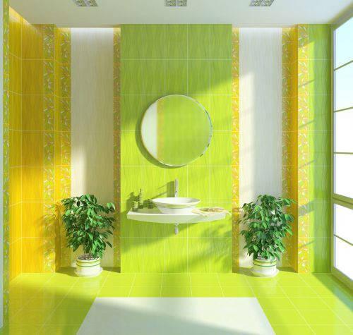 Плитка Golden Tile — Коллекция «Апрель» (зелёный)