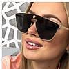 VERSACE очки женские, солнцезащитные очки,цвет чёрный