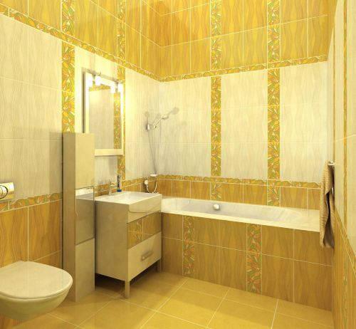 Плитка Golden Tile — Коллекция «Апрель» (жёлтый)