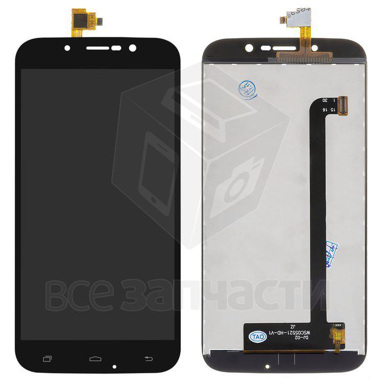 Дисплейный модуль для мобильного телефона S-TELL M555, черный