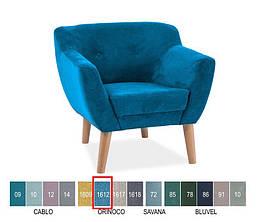 Кресло Bergen I бирюзовый Signal ткань Orinoco1612