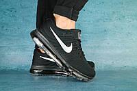 Мужские кроссовки Nike AirMax Черный\Серый 10589, фото 1