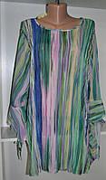 Женский блузон большого размера сдлинным рукавом, фото 1