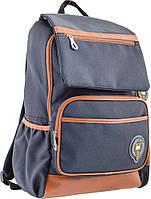 Підлітковий Рюкзак шкільний OX 293, сірий,28.5*44.5*12.5, YES, фото 1