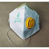 Респиратор Росток с клапаном (код-2ПК) жёлтый