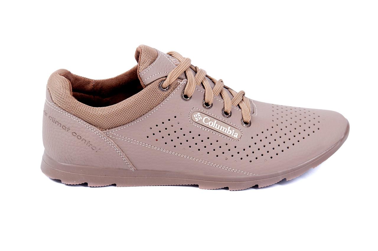 ... Мужская обувь Хмельницкий · Спортивная обувь Хмельницкий. Мужские  кожаные летние кроссовки, перфорация Columbia SB beige c8b69932cde