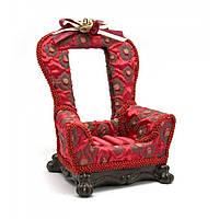 Подставка для колец и сережек с зеркальцем Кресло
