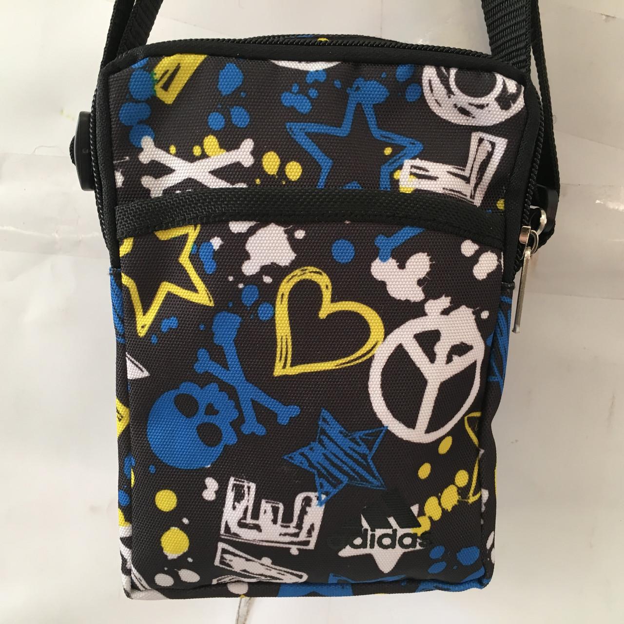 7378182104ea Высококачественная мужская сумка через плече. Удобная, практичная сумка. Мужская  сумка Адидас