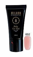 Poly Gel (акрил-гель) MILANO AСRYL GEL 002, 30 мл