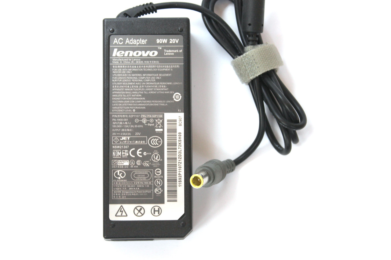 Блок питания для ноутбука Lenovo 20V 4.5A (7.9*5.5)