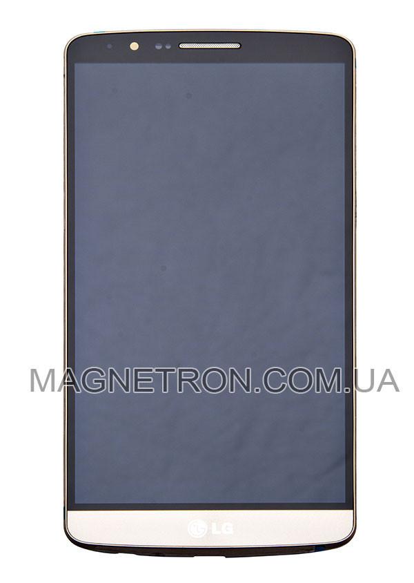 """Дисплей с тачскрином и передним корпусом для телефона LG D855 G3 ACQ87190303 - Интернет-магазин """"Закупка"""" в Киеве"""