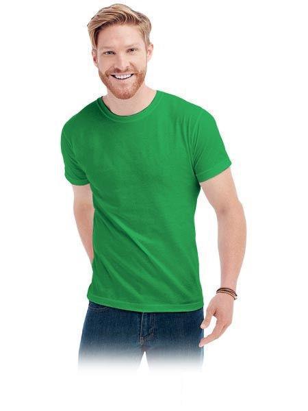 Классическая мужская футболка из 100% хлопка , под нанесение логотипа