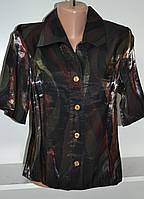 Женская летняя блузка с коротким рукавом , фото 1