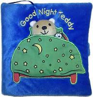 Детская книга на английском Good Night, Teddy