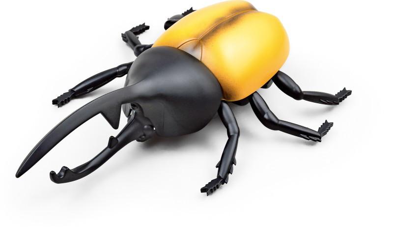 Радиоуправляемая игрушка SUNROZ Beetle игрушечный Жук-Геркулес на р/у Желтый (SUN0892)