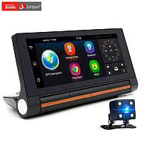 GPS навигатор Junsun E27 (Регистратор, Андроид 5.0, Автопланшет,  камера заднего вида ), фото 1